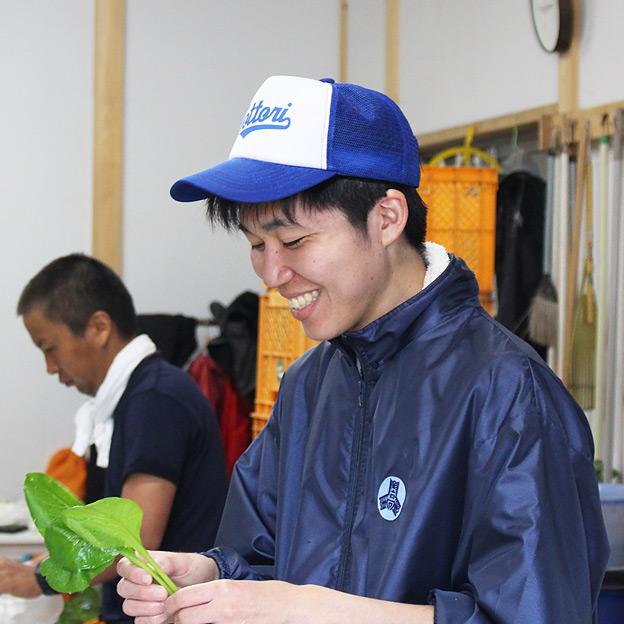 鳥取のおいしい有機野菜 TREE&NORF 北大生の農業体験