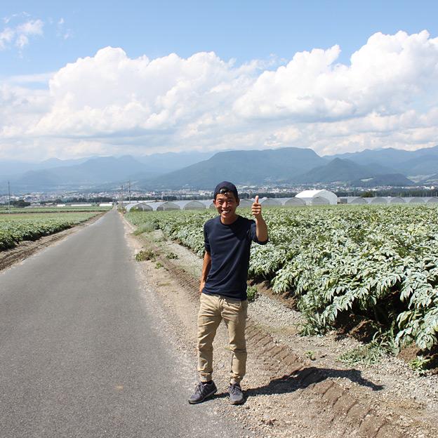 鳥取のおいしい野菜 TREE&NORF/野菜くらぶ(群馬県昭和村)を視察訪問