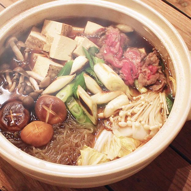 鳥取のおいしい有機野菜 TREE&NORF 白ねぎたっぷり牛すじすき焼き