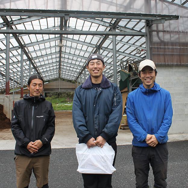 鳥取のおいしい有機野菜 TREE&NORF 新庄村有機農業サポートセンターを視察